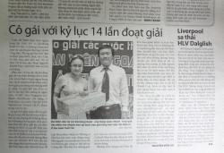 Phan Nguyễn Khánh Đan - Cô gái với kỷ lục 14 lần đoạt giải