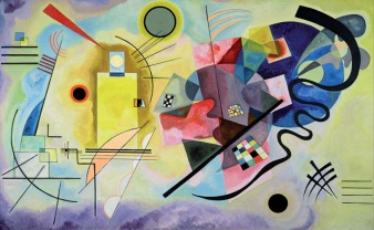 """Yellow, Red, Blue"" - Wassily Kandinsky"