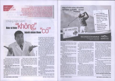 Phan Nguyễn Khánh Đan - Góc Sức Khỏe 2012 12 20
