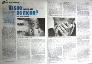 VÌ SAO CHÚNG TA GẶP ÁC MỘNG? - Góc Sức Khỏe - Phan Nguyễn Khánh Đan