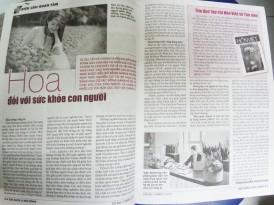 Hoa và Sức Khỏe Con Người - báo Sức Khỏe Đời Sống - Phan Nguyễn Khánh Đan