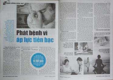 Phát bệnh vì áp lực tài chính - Sức Khỏe Đời Sống - Phan Nguyễn Khánh Đan - 2016 03 11