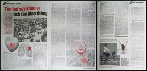 Tổn hại sức khỏe vì ách tắc giao thông - Phan Nguyễn Khánh Đan - Sức Khỏe & Đời Sống