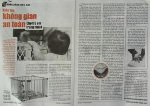 Kiến tạo không gian an toàn cho trẻ em trong nhà ở - Phan Nguyễn Khánh Đan - SKĐS 908