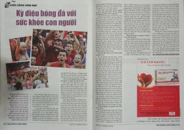 Kỳ diệu bóng đá đối với sức khỏe con người - Phan Nguyễn Khánh Đan - Sức Khỏe Đời Sống