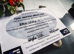 My Krav Maga A1 certificate