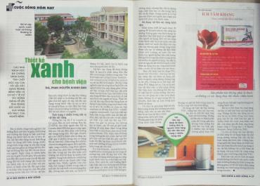 ThS. Phan Nguyễn Khánh Đan - báo Sức Khỏe Đời Sống số 923 tháng 09/2016