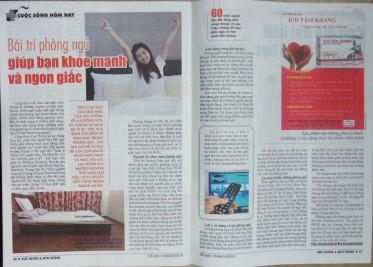 Bài trí phòng ngủ giúp bạn khỏe mạnh và ngon giấc - Sức Khỏe Đời Sống 925 - ThS. Phan Nguyễn Khánh Đan - 2016 09 29