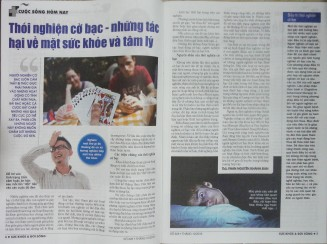 THÓI NGHIỆN CỜ BẠC – Những tác hại về mặt sức khỏe và tâm lý - Sức Khỏe & Đời Sống - ThS. Phan Nguyễn Khánh Đan