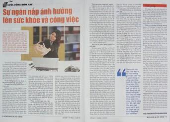 Sự ngăn nắp ảnh hưởng lên sức khỏe và công việc - báo Sức Khỏe & Đời Sống - ThS. Phan Nguyễn Khánh Đan