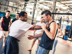 Stephen Davidson, Krav Maga class in Ho Chi Minh City