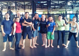 Krav Maga class in Ho Chi Minh city - coach Stephen Davidson