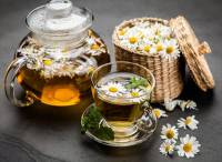Hoa cúc La Mã trong ẩm thực