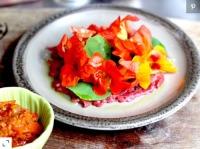 Hoa sen cạn trong ẩm thực