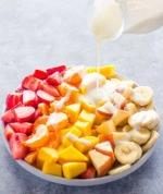Salad xoài với sốt yogurt mật ong -- blog ThS. Phan Nguyễn Khánh Đan