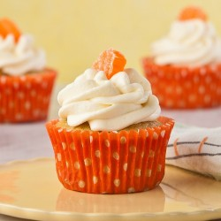 Cupcake kem đá creamsicle vị cam
