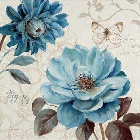 """Tác phẩm """"Blue Notes III"""" của nữ họa sĩ Lisa Audit, sưu tầm bởi ThS. Phan Nguyễn Khánh Đan"""